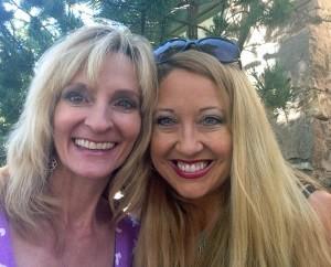 Travel journalist Janna Graber and her friend, Melanie Herr
