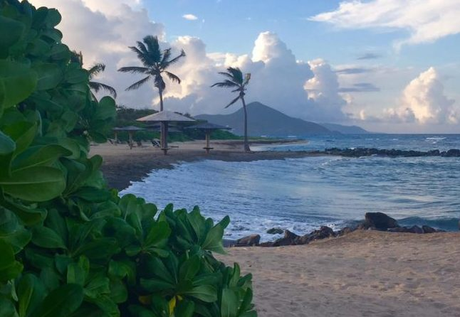 Afternoon breeze on the island of Nevis. Photo by Janna Graber