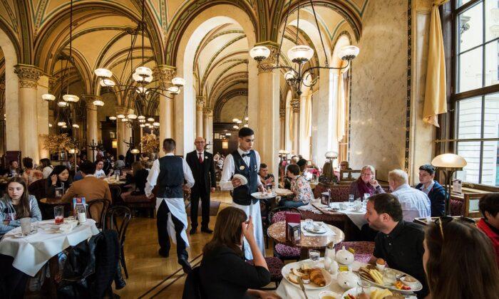 Café Central, Vienna. (Giannis Papanikos/Shutterstock)