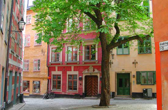 Gamla Stan in Stockholm, Sweden. Photo by Janna Graber
